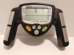 Omron HBF-306CN Handheld Body Fat Loss Monitor HBF 306CN Black Free Shipping