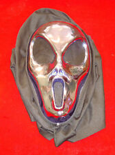Purple Alien Hooded Halloween Mask