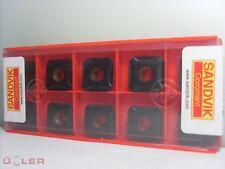 10X SANDVIK R245-12T3M-PM 4240 WENDESCHNEIDPLATTEN CARBIDE INSERTS