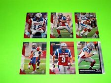 6 MONTREAL ALOUETTES UPPER DECK CFL FOOTBALL CARDS 45 50 51 52 90 115 #-6