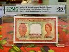 Malaya and British Borneo Board of Comm. of Currency 10 Dollars 1953 P.3a PMG65E