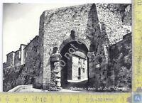 Cartolina - Postcard  - Volterra - Porta dell'Arco - anni '50