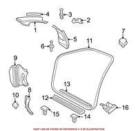 For BMW Genuine Door Pillar Post Trim Set Right 51437065366