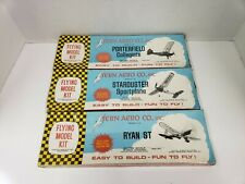 Lot of 3 Tern Aero Flying Model Kits