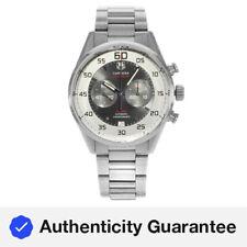 Tag heuer carrera Dial De Plata Acero Automático para Hombre Reloj CAR2B11.BA0799