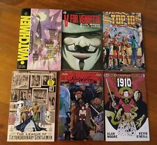 Alan Moore TPB Collection Watchmen, V for Vendetta, and more