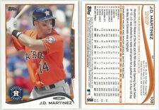 2014 Topps J.D. Martinez #108, Houston Astros Baseball Card