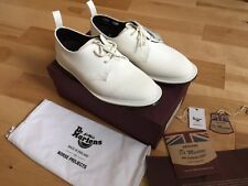 Dr.Martens x Norse Projects Steed Shoe Made In England White Suede UK9 US10 New