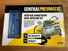 Central Pneumatic Airbrush Compressor and Airbrush Kit