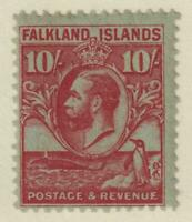 FALKLAND ISLANDS 63  MINT LIGHTLY HINGED OG *  NO FAULTS VERY FINE!