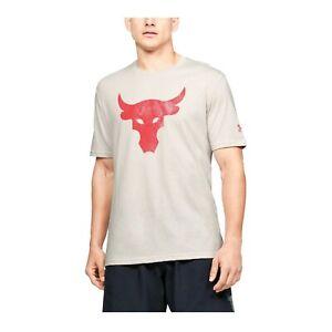 Under Armour Men's UA Project Rock Brahma Bull Short Sleeve T-shirt 1351582-110