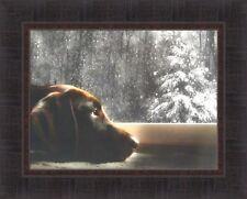 SUNFLOWER FARM II by Lori Deiter 16x22 FRAMED PRINT PICTURE Barn Silo Field HCD