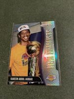 2019-20 Panini Mosaic Silver Prizm NBA Finalists Kareem Abdul Jabbar Lakers