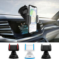 360 Universal Car Holder Stand Mount Cradle Windshield Suction Cup Fr Cell Phone