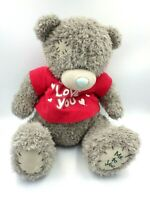 Peluche Ourson ME TO YOU Ours TEDDY BEAR Soft Plush 40 CM T-shirt Love You