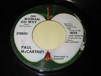 Paul McCartney: Oh Woman, Oh Why / Another Day 45