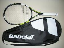 """BABOLAT AERO 112  TENNIS RACQUET 4 1/4  27.5""""  2013 (NEW STRINGS)"""