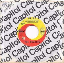BEATLES * 45 * Help! / I'm Down * 1960s * w/ USA ORIGNAL Capitol Sleeve