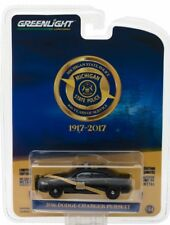 2018 GreenLight ANNIVERSARY MICHIGAN STATE POLICE 2016 DODGE CHARGER PURSUIT!