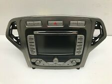 Ford Mondeo mk4 CD Radio Sat Nav heater unit 7S7T18K931BK