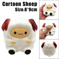 Jumbo Sheep Flexible Cute Cartoon Alpaca Super Slow Rising Scented Squeeze Toy