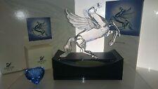 Swarovski edición anual 1998 Pegasus 216327 + display + SCS corazón azul OVP certif
