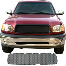 CCG FLAT BLACK PRECUT MESH GRILL INSERT FOR A 2000-02 TOYOTA TUNDRA GRILLE NEW