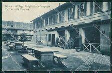 Roma Città Caserma Militari Artiglieria cartolina QT2226