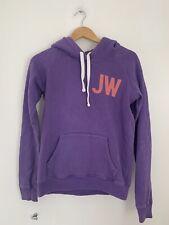 Ladies Hoody Jack Wills 10 Purple Long Sleeve Cotton Casual <JS4111