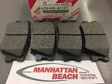 2006 2018 RAV4 Rear Brake Pads NEW Genuine Toyota CERAMIC 04466 AZ107