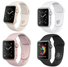 Relógio Apple Geração 1 38 42mm Alumínio Banda de Aço Inoxidável Esportivo Relógio Inteligente