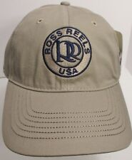 Ross Reels Hat Cap Fly Fishing Colorado USA Embroidery  RR New #tn