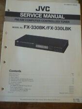 JVC FX-330BK  FX-330LBK Stereo Tuner Service Manual