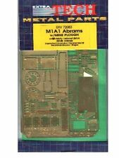 Extratech EXV72083 1/72 Photo-Etch Detail Kit for an Abrams w/minesweeper-Dragon