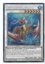Coral Dragon TDIL-EN051 Secret Rare Yu-Gi-Oh Card 1st Edition Mint New