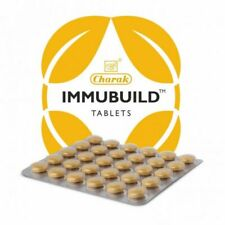 10 X Charak Ayurveda Immubuild 30 Tablets Ayurvedic Herbal Product