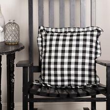 VHC Annie Buffalo Throw Pillow Cushion 18x18 Decorative Cover & Insert Farmhouse