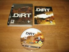 PS3 game - Colin McRae Dirt Steelbook Edition (complete PAL)