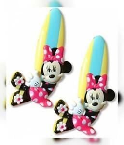 O2COOL Minnie Mouse Boca Beach Towel Clip, 1-Pack,