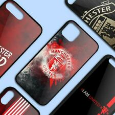 MANCHESTER UNITED LOGO Luxury iPhone Case 5 5S 6 7 8 + X XR XS max 11 Pro