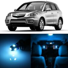 10 x Ice Blue LED Interior Lights Package For 2007 - 2012 Acura RDX + PRY TOOL