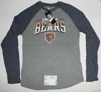 Men's Chicago Bears NFL Pro Line by Fanatics Long Sleeve Raglan T-Shirt, Medium