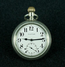 VINTAGE POCKET WATCH - ETERNA - RAILROAD WATCH