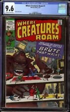 Where Creatures Roam # 1 CGC 9.6 OW/W (Marvel, 1970) 1st issue in series