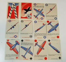 Vintage 1942 Squadron Scramble Card Game Aviation WWII Game #2