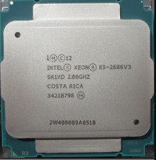 Intel Xeon E5-2686 V3 QS 2GHz 18 Core 36 Thread 45M 120W LGA2011-3 CPU Processor