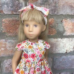Sasha Doll Floral Dress Set Socks And Shoes