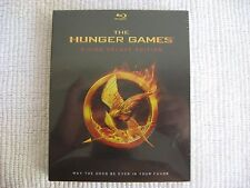 The Hunger Games Blu Ray 3-Disc Deluxe Edition Target Exclusive Embossed