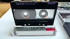 MAXELL XLII SONY UCX 90 CHROME COLLECTION 10 CASSETTE TAPES USED ERASE & RE-USE
