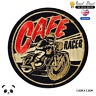 Cafe Race Bikers  Embroidered Iron On Sew On Patch Badge For Clothes etc